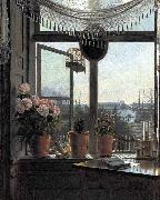 unknow artist View from the Artist-s Window oil painting reproduction